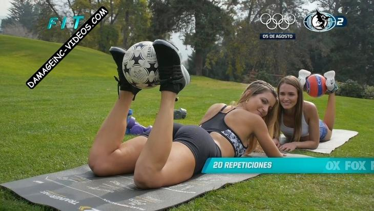 Lucila Vit shows her ass and smiles at the camera damageinc videos HD