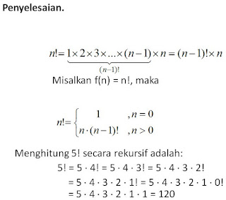 Rekursif Matematika Diskrit