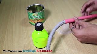 Membuat Sendiri Lampu Belajar Keren dari Botol Bekas