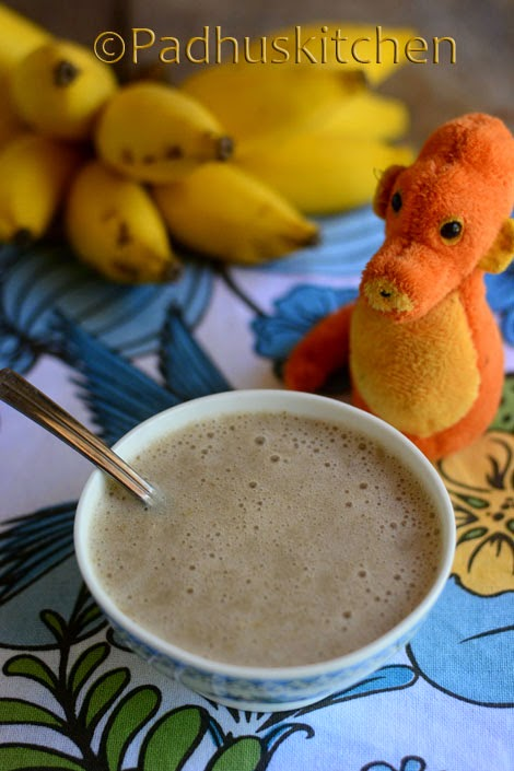 Banana Oats Porridge for babies