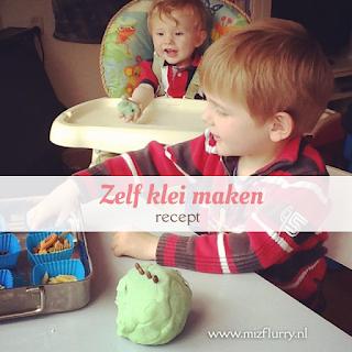 recept zelf klei maken