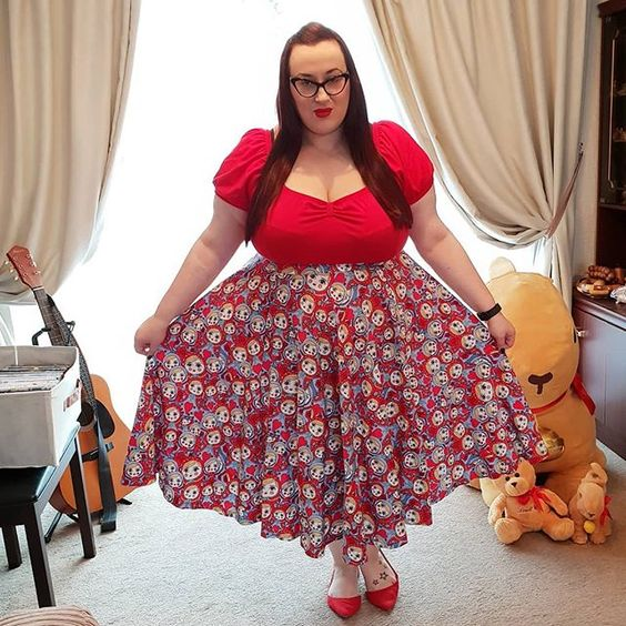 Lindy Bop Russian Doll Skirt