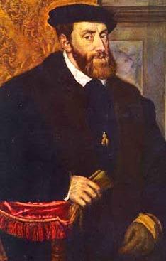Retrato de Carlos I a colores