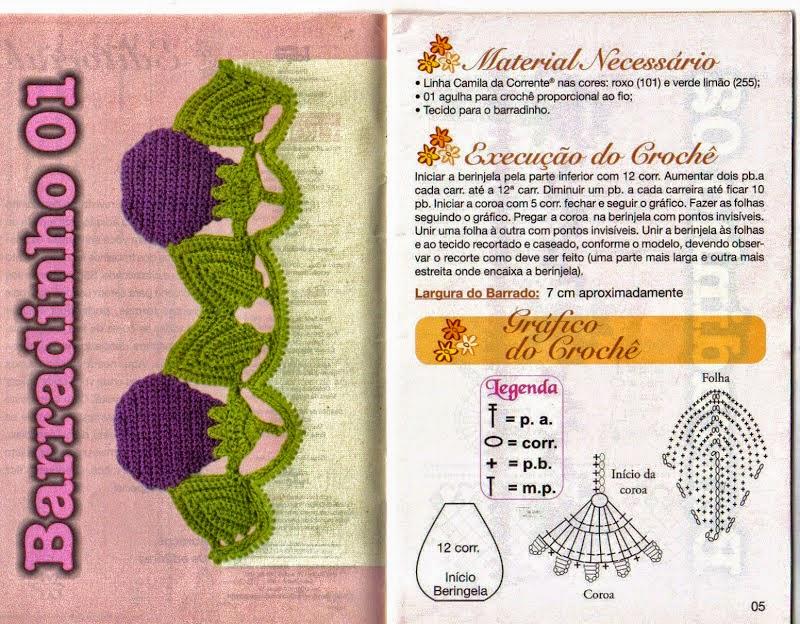 Encantador Los Patrones De Crochet Libre Para Los Accesorios De ...