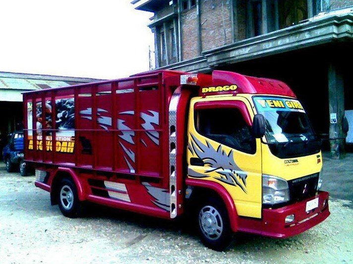830 Koleksi Modifikasi Mobil Truk Canter Jawa Terbaru