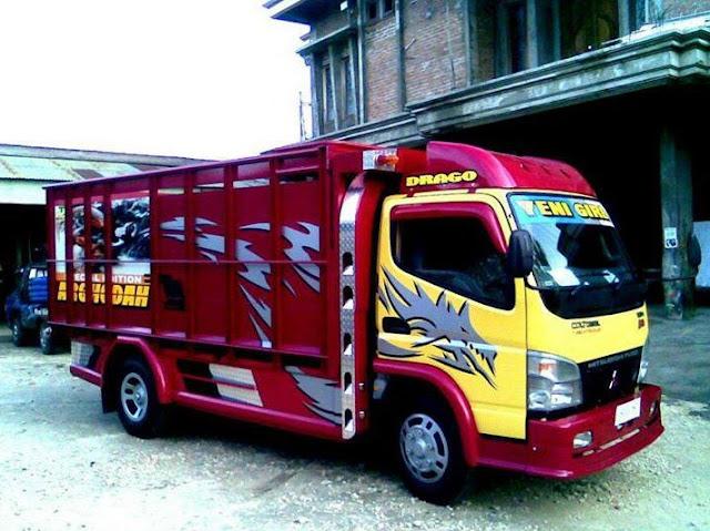 modif variasi mobil truk jawa