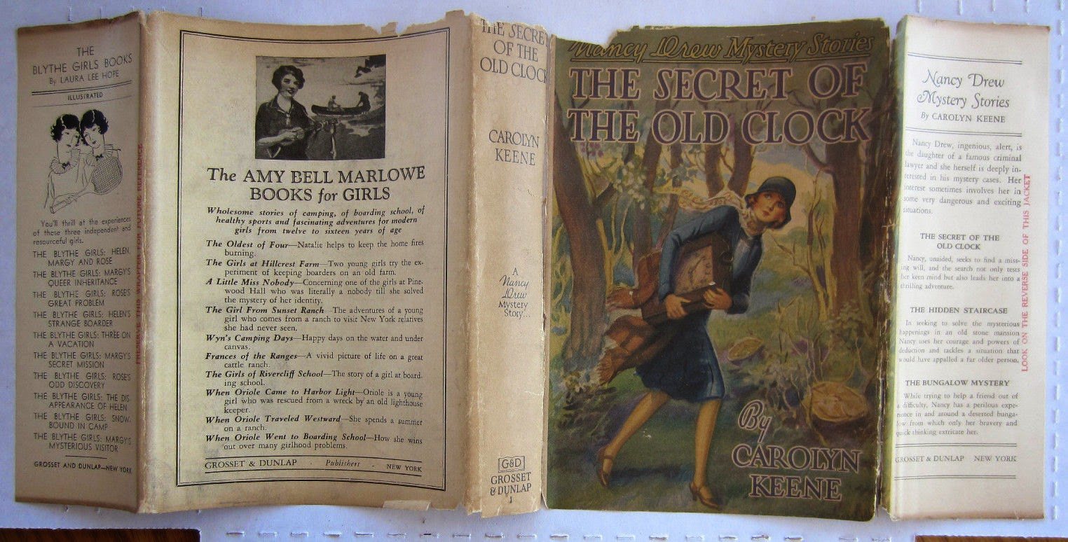 Series Books For Girls Noteworthy Nancy Drew First Printing Auctions