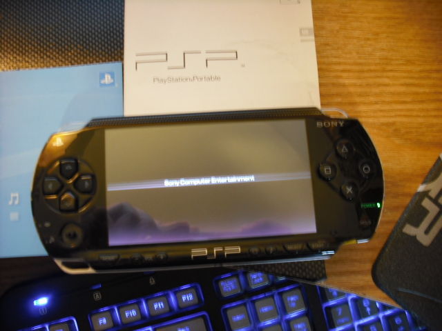how to hack psp 1001 with pandora battery