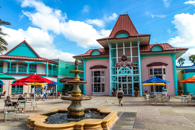 Restaurantes do Disney's Caribbean Beach Resort