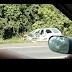 Acidente é registrado na BR 277 em Laranjeiras do Sul