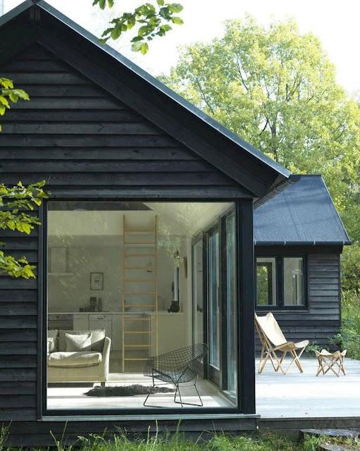 Desain jendela rumah minimalis scandinavian
