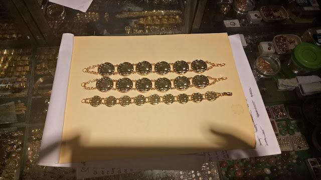 gelang emas rantai