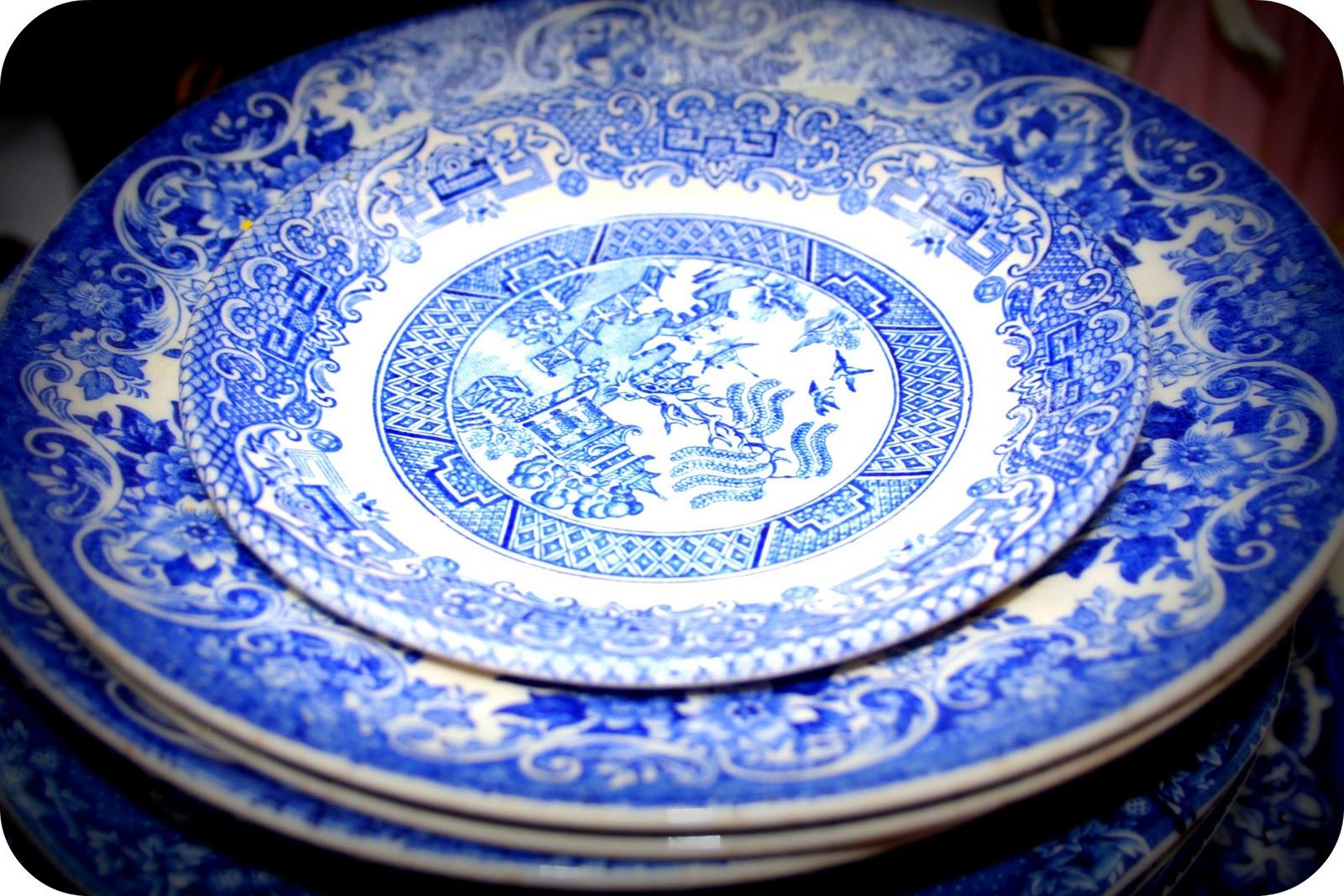Fancy Vintage: Vintage Blue China, Wales,