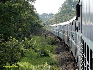 नागपुर से इटारसी पैसेंजर ट्रेन यात्रा