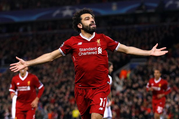 liverpool player MOHAMED SALAH IS THE KING OF AFRICAN FOOTBALL ON SOCIAL MEDIA