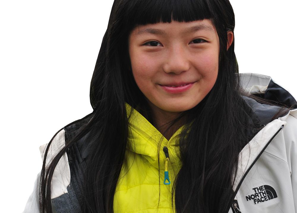 Faces Ashima Shiraishi - 3 April 2001