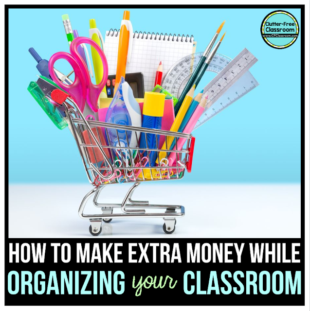 Classroom organization can be simple with these decluttering and organizing tips. Become an organized teacher and make extra money with these hacks today!