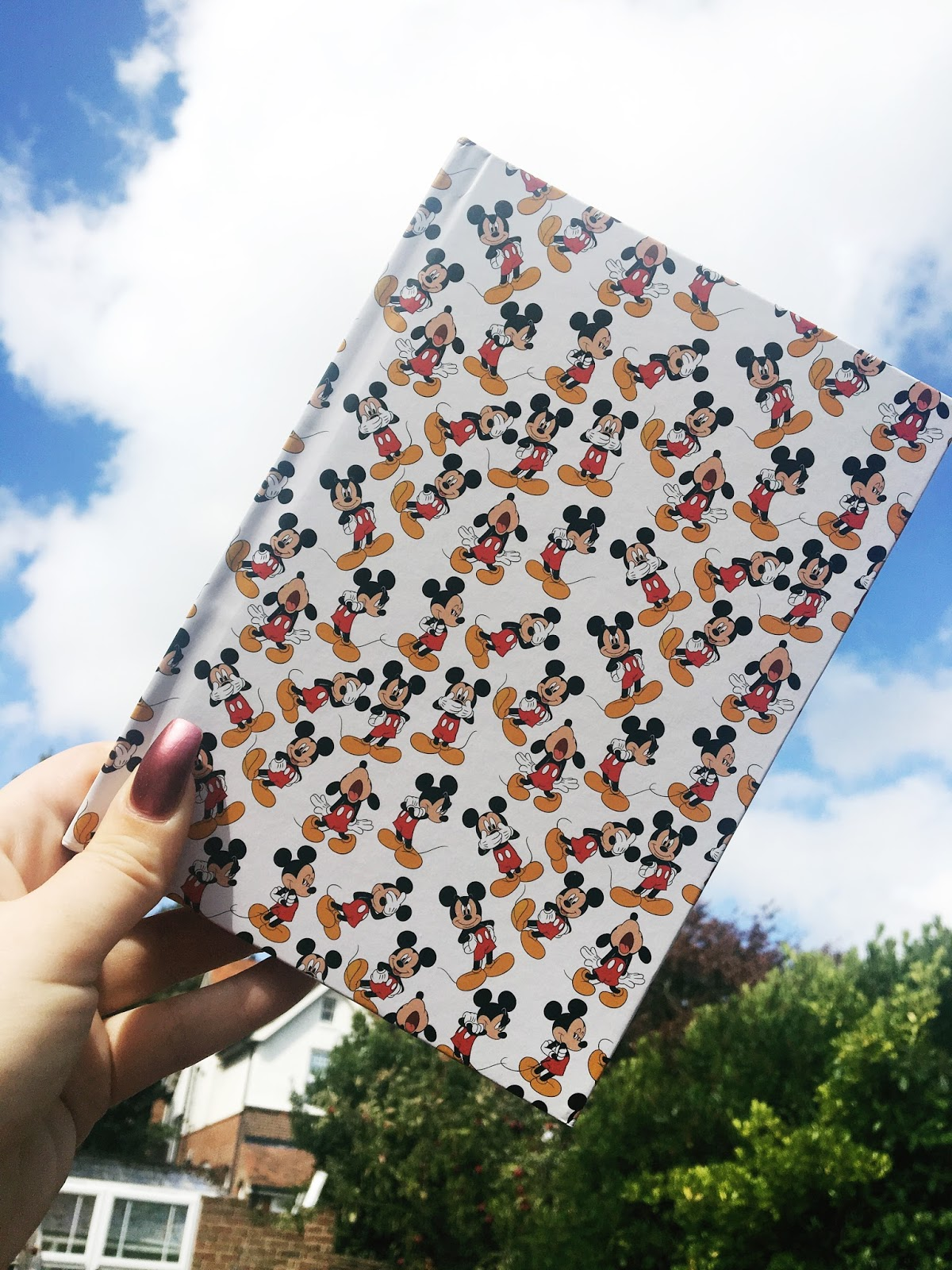 Disney stationary