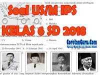 Soal Ujian Sekolah IPS Kelas 6 SD 2018 Terbaru dan Kunci Jawaban