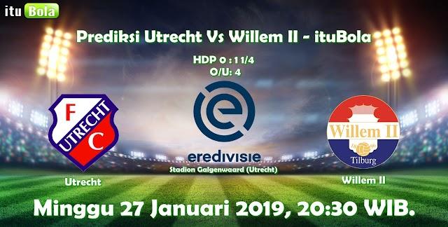 Prediksi Utrecht Vs Willem II - ituBola