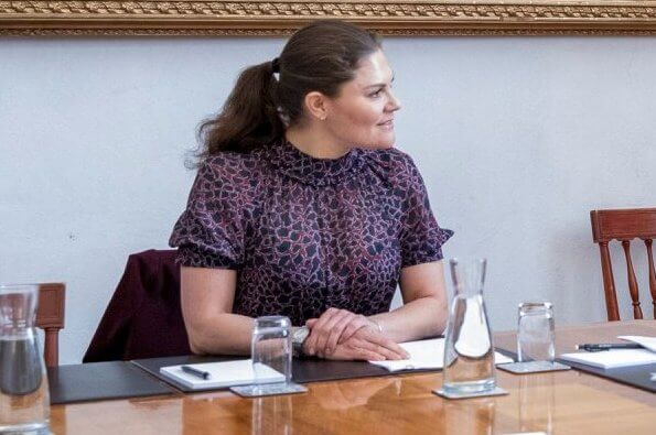 Crown Princess Victoria wore By Malina Lysandra dress
