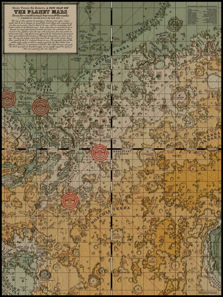 a new map of mars