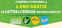 Concorra 1 ano de Leites e Cereais Matinais Nestlé