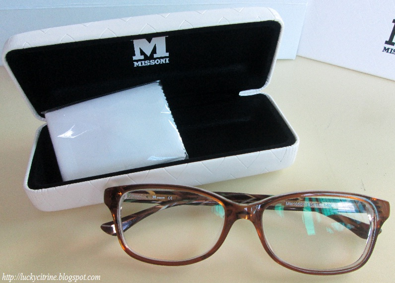 78b883138b2c75 Lucky Citrine  My New Glasses  M.Missoni from EO