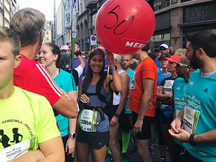Oslo maraton løypekart 2020