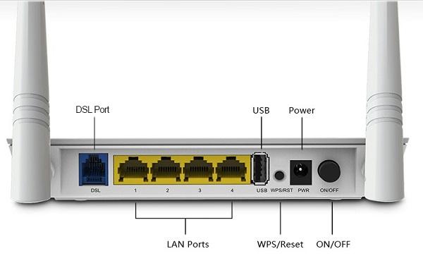 Router con boton WPS