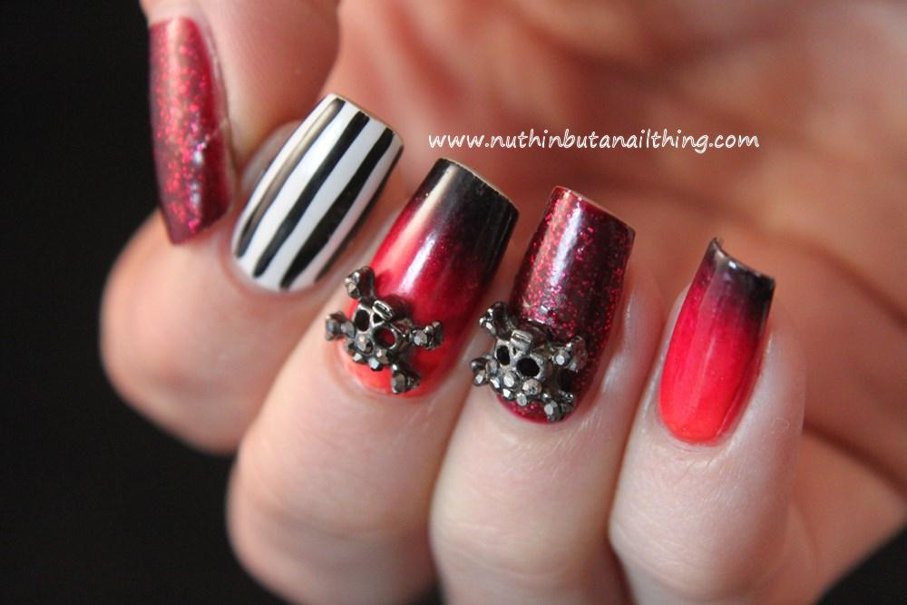 gothic nail art