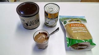 cremosos de coco y cacao sin gluten