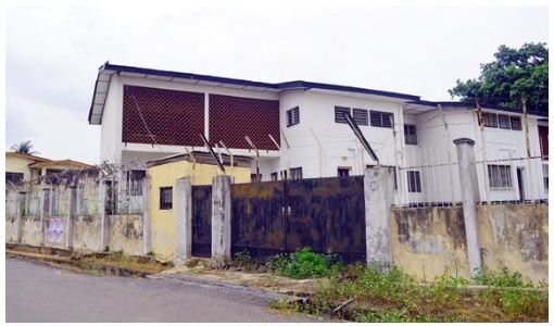 the house left behind by nigerian striker Rasheed Yekini in ibadan