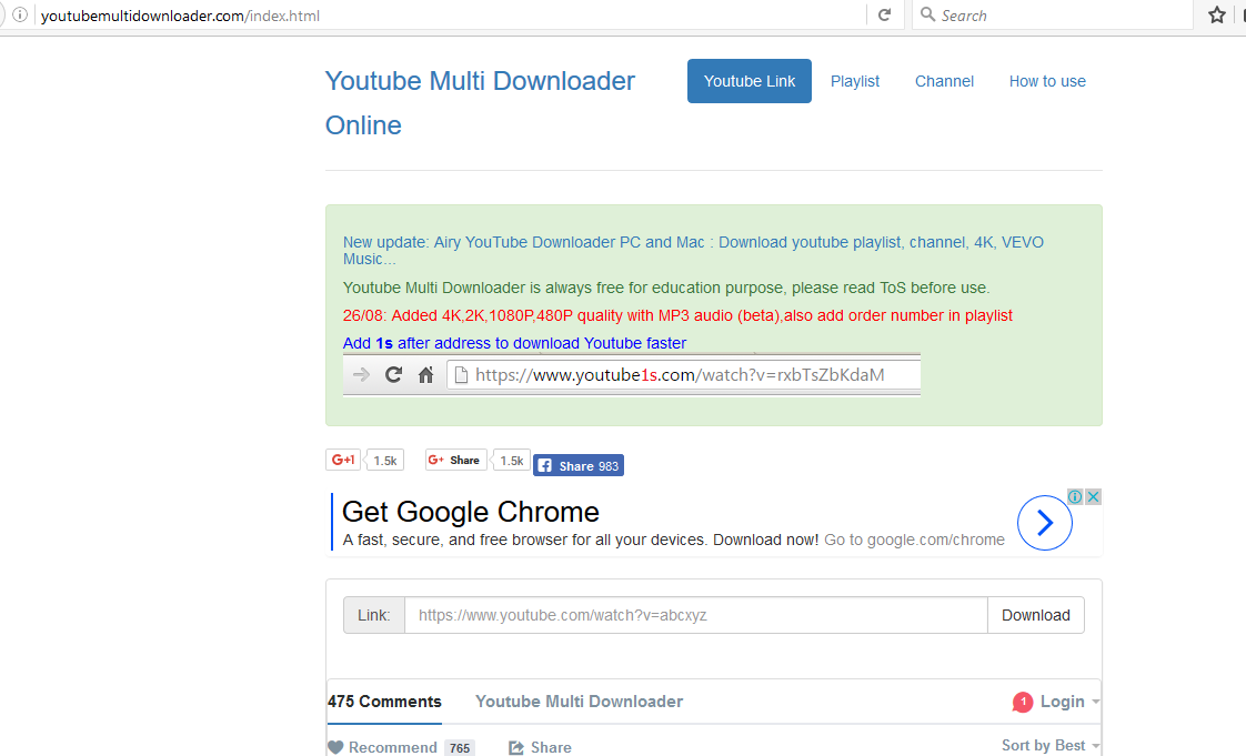 How to download youtube video without idm using youtube multi how to download youtube video without idm using youtube multi downloader ccuart Image collections