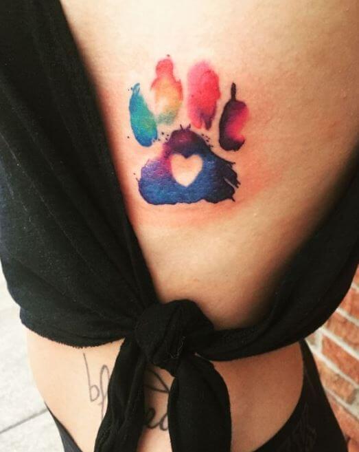 Paw Print Tattoos