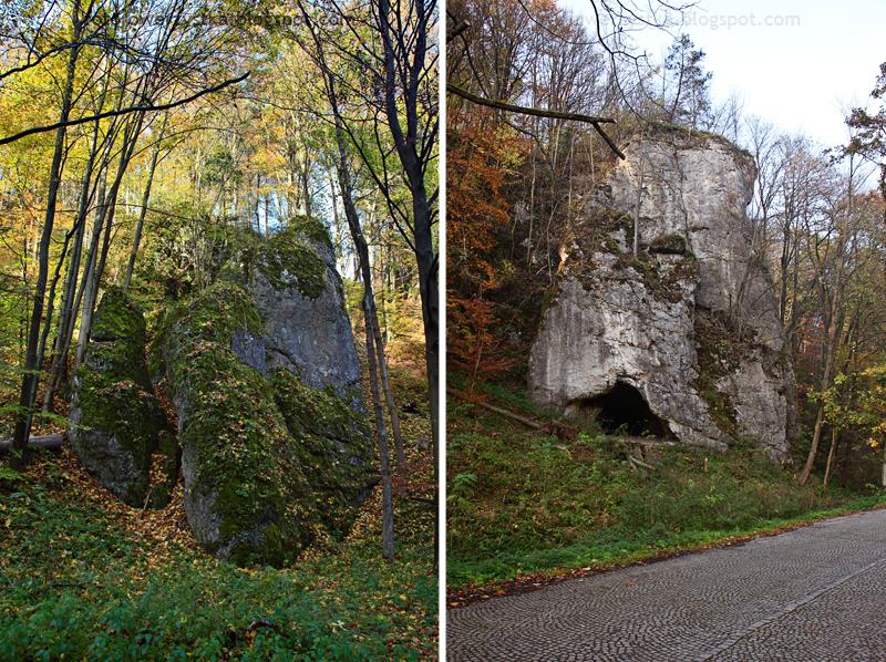 Ojców, Ojcowski Park Narodowy, małopolskie, Dolina Prądnika, Jaskinia Krowia