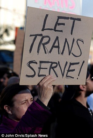 Trump gives the Pentagon six months to kick out transgender service people from the US military