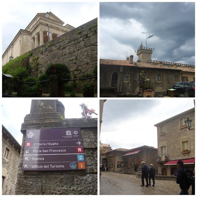 Caminhando por San Marino