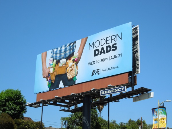 Modern Dads season 1 TV billboard