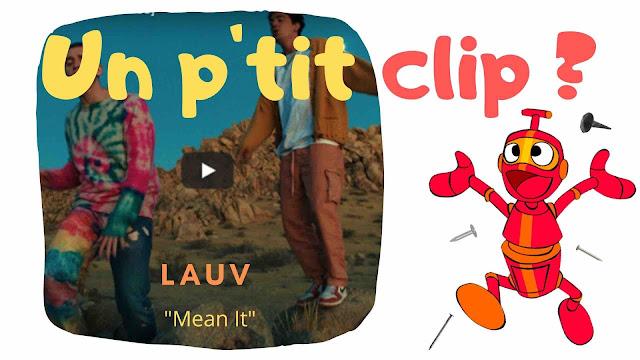 """voici le tout dernier extrait signé Lauv. C'est le titre """"MEan It"""" qui figurera sur le prochain album, son premier, intitulé """"How I'm Feeling""""."""