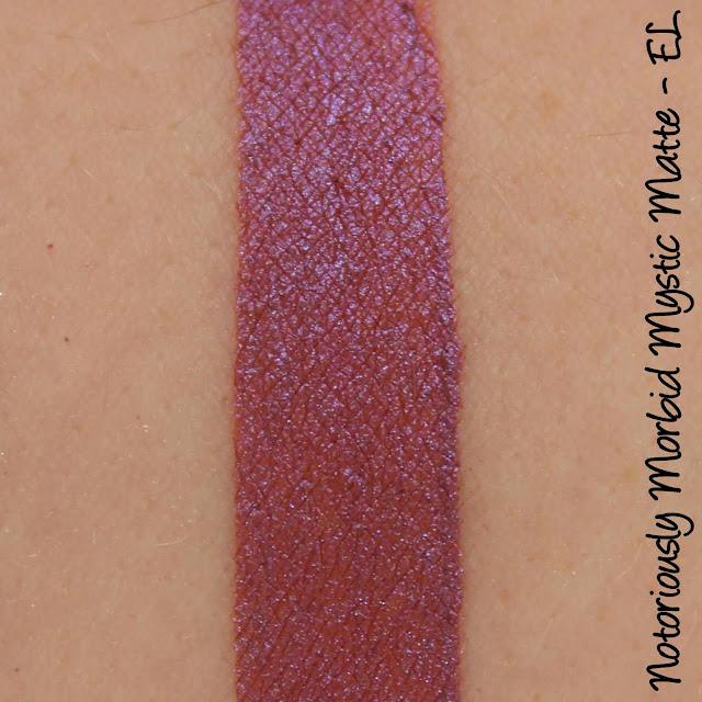Notoriously Morbid Mystic Matte - EL Swatches & Review