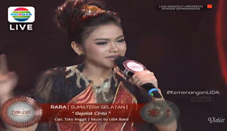 rara lida gejolak cinta MP3 konser kemenangan LIDA indosiar