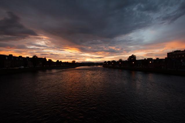 Inverness-tramonto