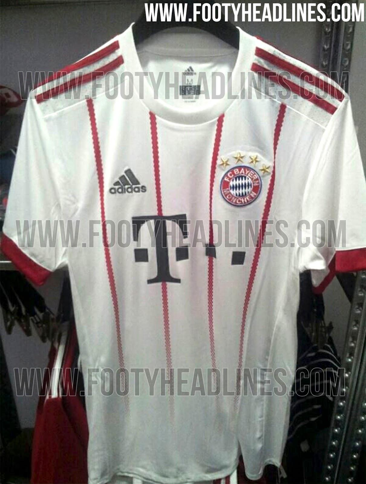 1b9ca7ea9f95e Imagem da nova camisa 3 do Bayern de Munique vaza na internet ...