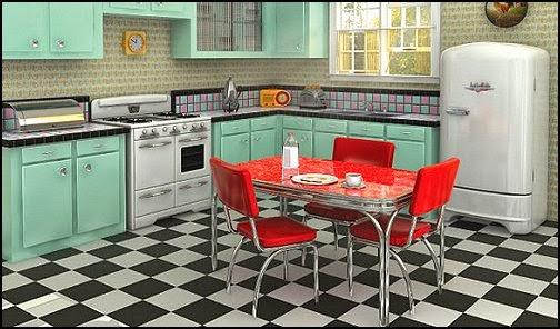 Diseño cocina retro