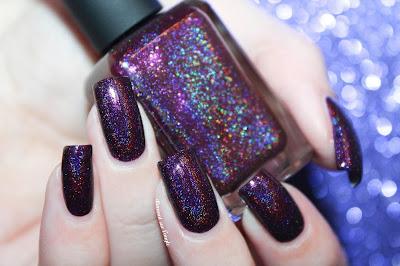 "Swatch of the nail polish ""January 2015"" from Enchanted Polish"