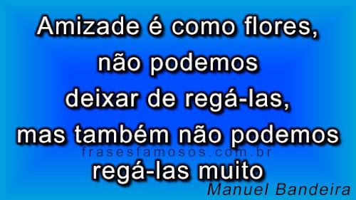 Frases de Manuel Bandeira sobre Amizade