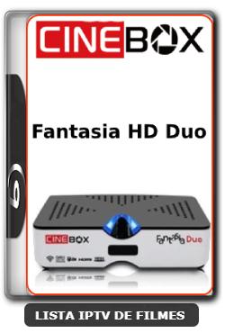 Cinebox Fantasia HD Duo Nova Atualização Satélite SKS Keys 61w ON - 28-03-2020