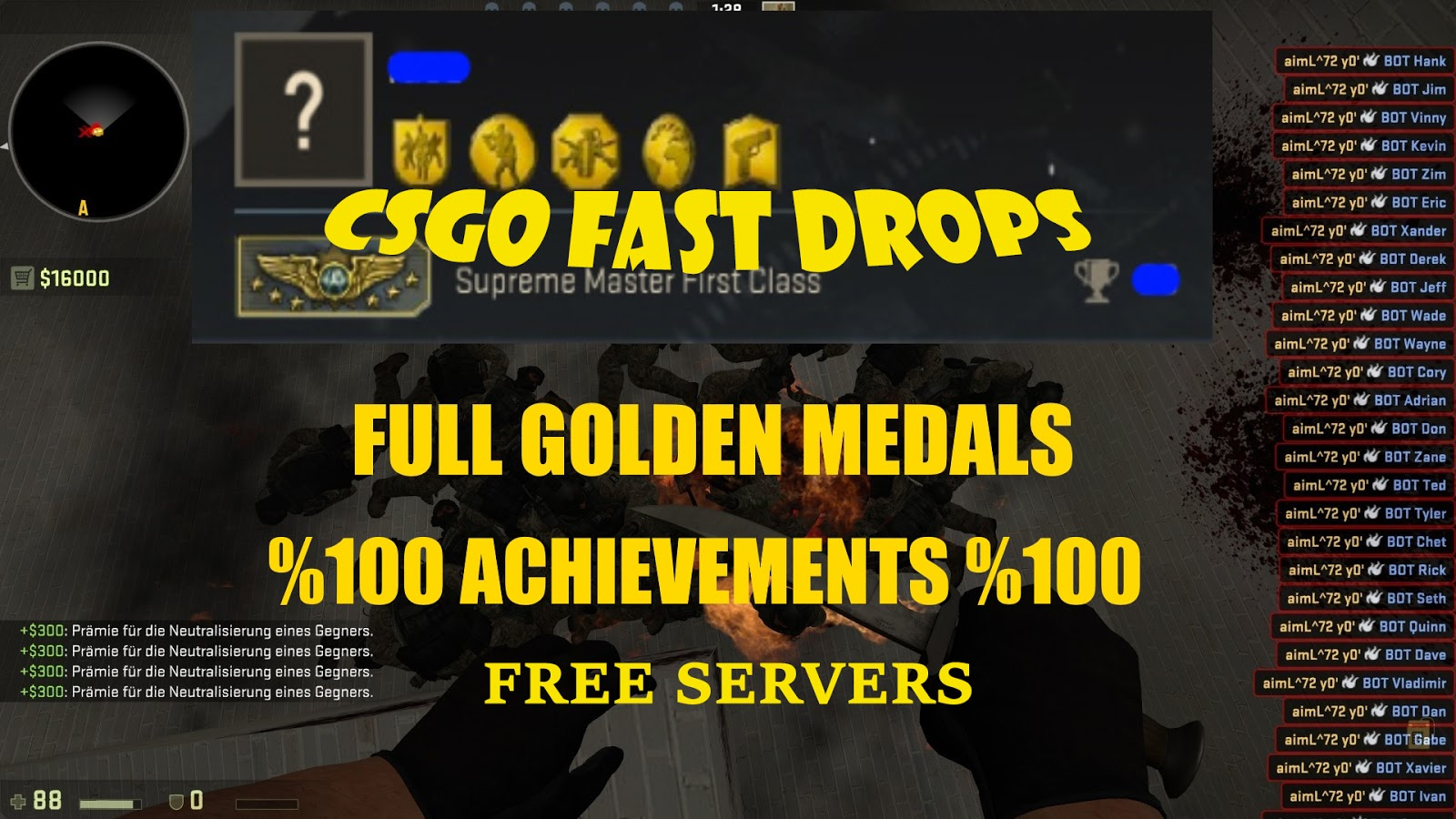 How to get drops in cs go fast esportsplus код