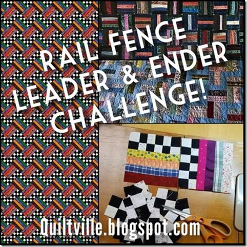 Rail Fence - Leader Ender Chall. 2017